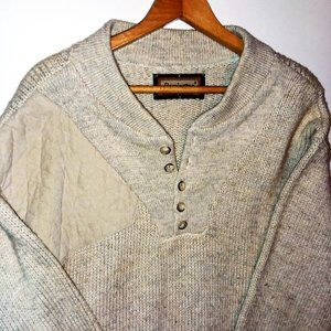 Remington Outdoor Quilted Shoulder Sweater Sz XL